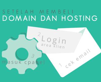 Setelah Membeli Domain Hosting Baxohost