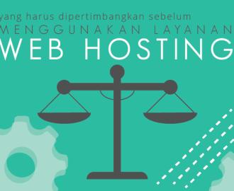 Pertimbangan Untuk Web Hosting Baxohost